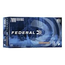 Federal Power Shok 7mm Rem Mag 175gr SP 20/bx
