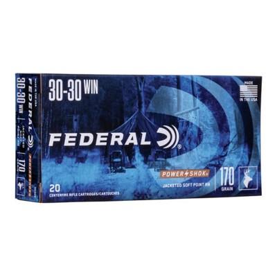 Federal Power Shok 30-30 Win 170gr SPRN 20/bx