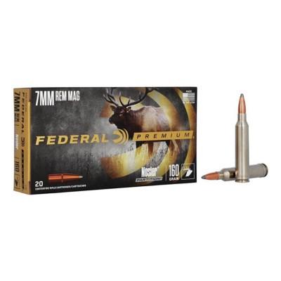 Federal Vital Shok 7mm Rem Mag 160gr Nosler Partition 20/bx