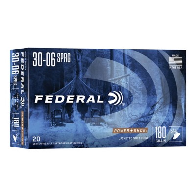 Federal Power Shok 30-06 180gr SP 20/bx