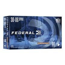 Federal Power Shok 30-06 180gr SP 20/bx