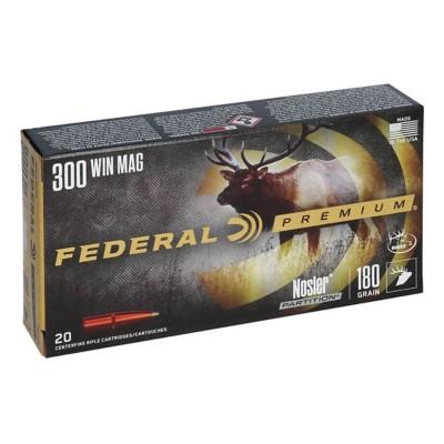 Federal Vital Shok 300 Win Mag 180gr Nosler Partition 20/bx
