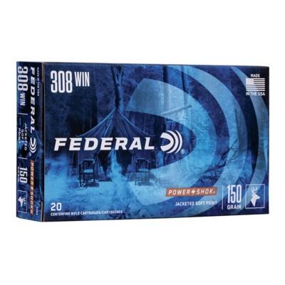 Federal Power Shok 308 Win 150gr SP 20/bx