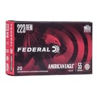 Federal American Eagle Ammo 223 55gr FMJBT 20/bx