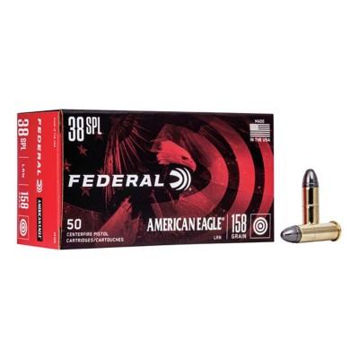 American Eagle 38 SPL 158gr LRN 50/bx