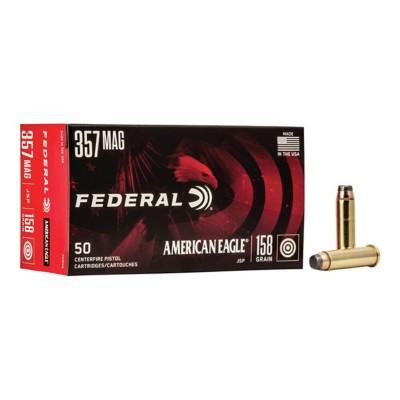 American Eagle 357 Mag 158gr JSP 50/bx