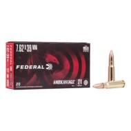 Federal Ammo 7.62 x 39 124gr FMJ Amer Eagle