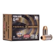 Federal Personal Defense 45 ACP 230gr Hydra Shok JHP 20/bx