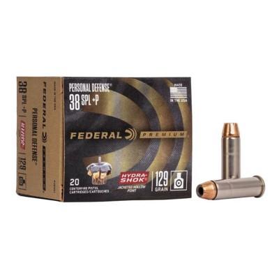 Federal Personal Defense 38 SPL +P 129gr Hydra Shok JHP 20/b