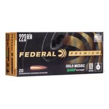 Federal Gold Medal 223 Rem 69gr Matchking BTHP 20/bx