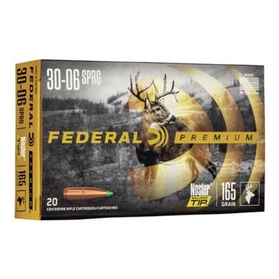 Federal Vital Shok 30-06 165gr Nosler Ballistic Tip 20/bx