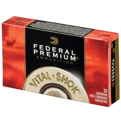 Federal Vital Shok 25-06 100gr Nosler Ballistic Tip 20/bx