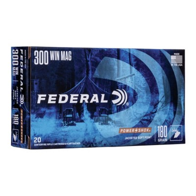 Federal Power Shok 300 Win Mag 180gr SP 20/bx