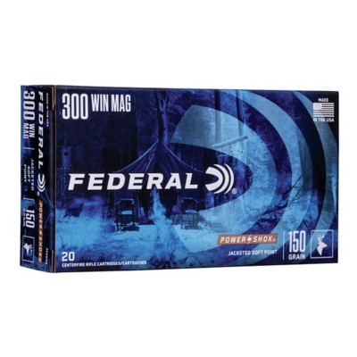 Federal Power Shok 300 Win Mag 150gr SP 20/bx