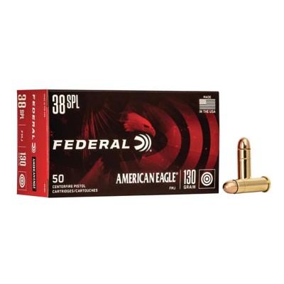 American Eagle 38 SPL 130gr FMJ 50/bx