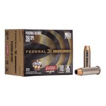Federal Personal Defense  38 SPL 110gr Hydra Shok JHP 20/bx