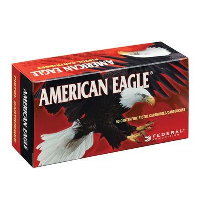 American Eagle 40 S&W 165gr FMJ 50/bx
