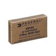 Federal Ammo 5.56 55gr FMJ-BT 20/bx