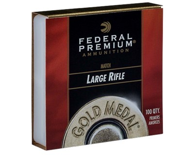 Federal Premium Large Rifle 210 Gold Medal Primer Brick