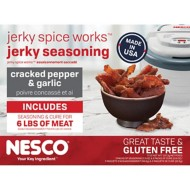 NESCO Cracked Pepper and Garlic Spice Jerky Seasoning