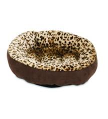 Aspen Pet Round Animal Print Bed