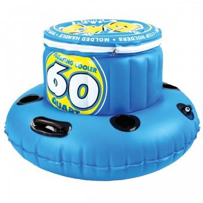 Kwik Tek Sportsstuff 60 Quart Floating Cooler' data-lgimg='{