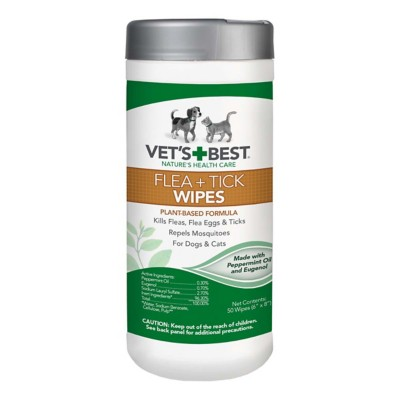 Vet's Best Flea and Tick Wipes 50 Count