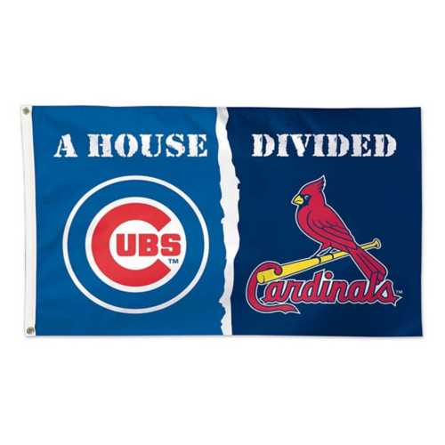 Wincraft Chicago Cubs and St. Louis Cardinals House Divided 3X5 Flag