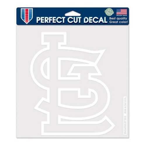 Wincraft St. Louis Cardinals 8X8 Perfect Cut Decal