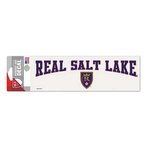 Wincraft Real Salt Lake 3X10 Perfect Cut Decal