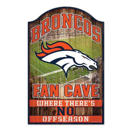 Wincraft Denver Broncos 11X17 Wood Sign