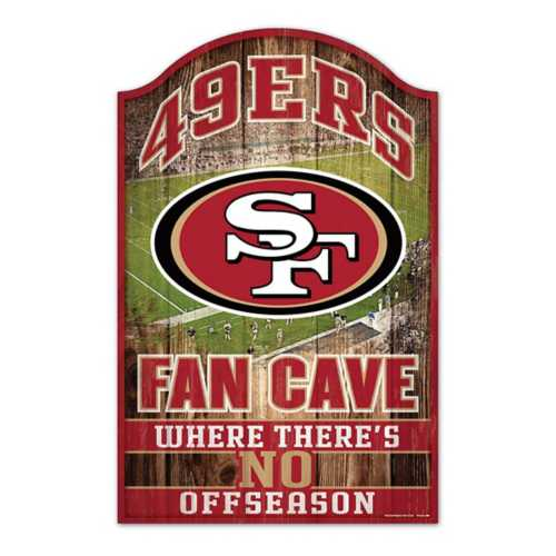 Wincraft San Francisco 49ers 11X17 Wood Sign