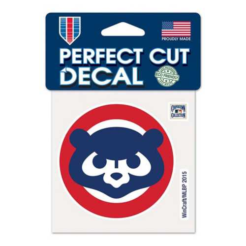 Wincraft Chicago Cubs 4X4 Perfect Cut Retro Decal