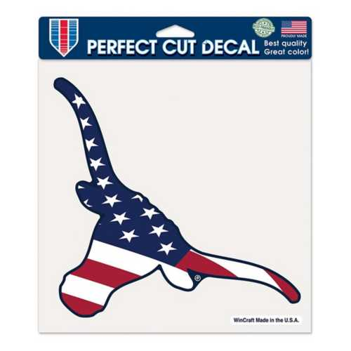 Wincraft Texas Longhorns 8X8 Perfect Cut Patriotic Decal