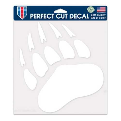 Wincraft Montana Grizzlies Etched 8X8 Perfect Cut Decal