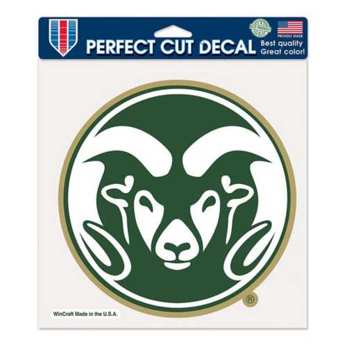 Wincraft Colorado State Rams 8X8 Perfect Cut Decal