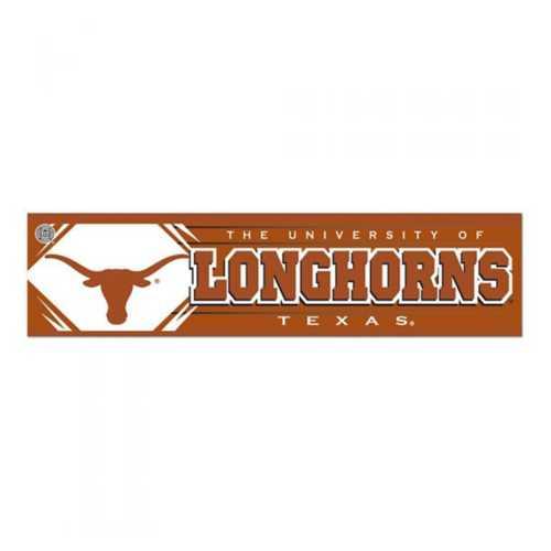 Wincraft Texas Longhorns 3x12 Bumper Sticker