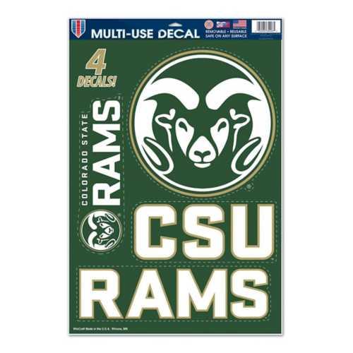 Wincraft Colorado State Rams 11X17 Decal
