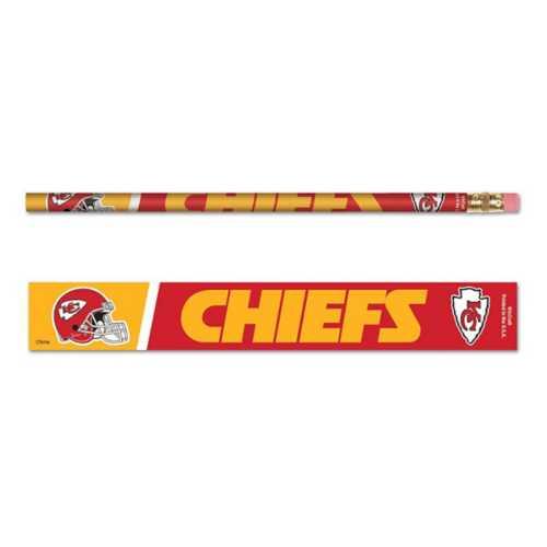 Wincraft Kansas City Chiefs 6 Pack Pencils