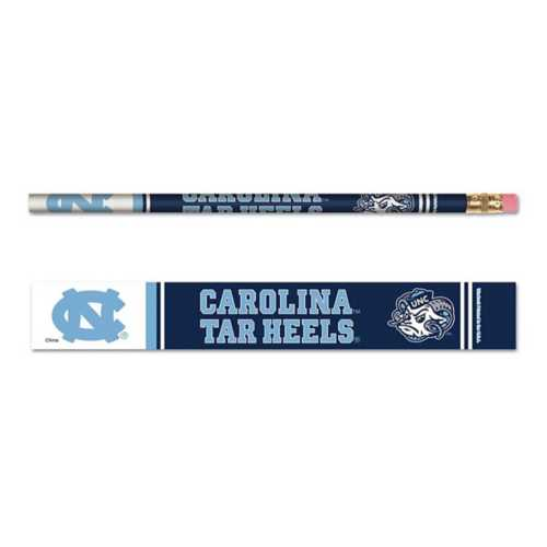 Wincraft North Carolina Tar Heels 6 Pack Pencils