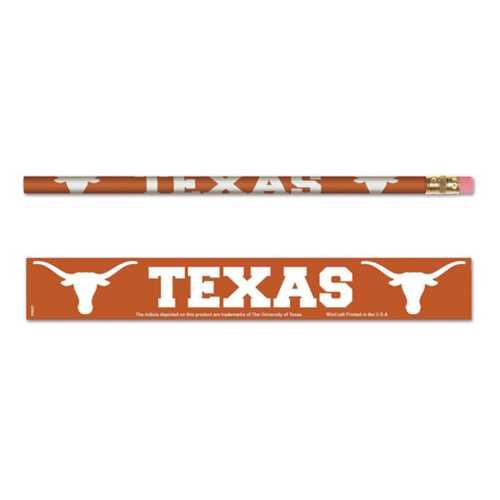 Wincraft Texas Longhorns 6 Pack Pencils