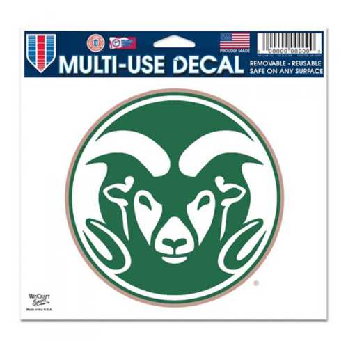 "Wincraft Colorado State Rams Ultra 5""x6"" Decal"