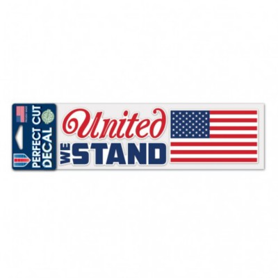 Wincraft United We Stand 3x10 Decal