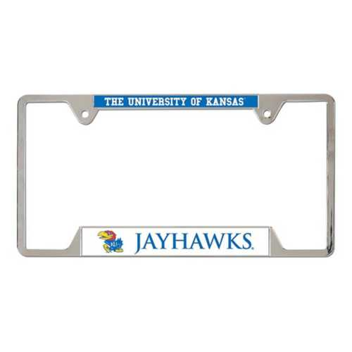Wincraft Kansas Jayhawks Metal License Plate Frame