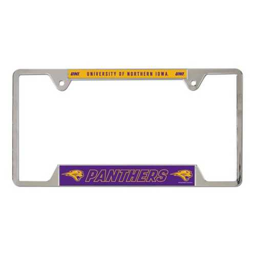 Wincraft Northern Iowa Panthers Metal License Plate Frame