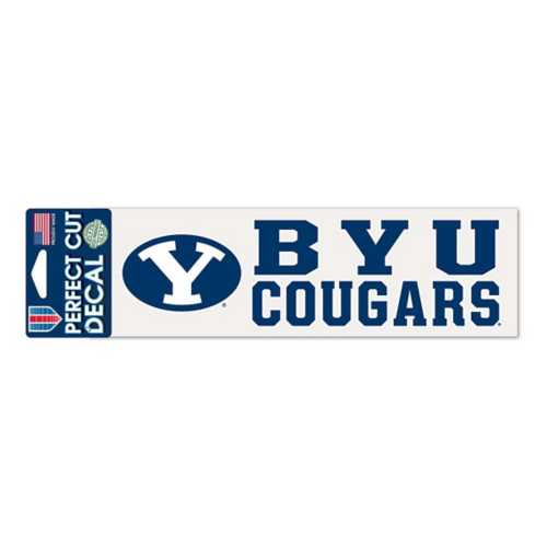 Wincraft BYU Cougars 3X10 Perfect Cut Decal