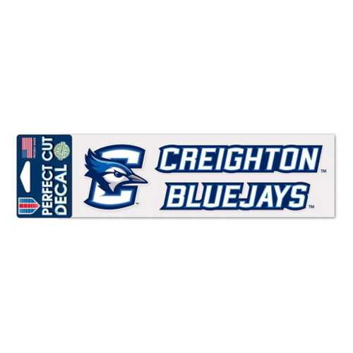 Wincraft Creighton Bluejays 3X10 Perfect Cut Decal