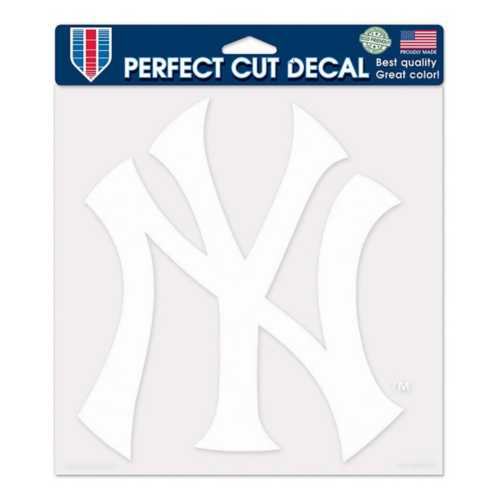 Wincraft New York Yankees 8X8 Perfect Cut Decal