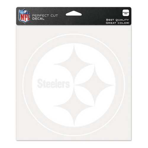 Wincraft Pittsburgh Steelers 8X8 Perfect Cut Decal