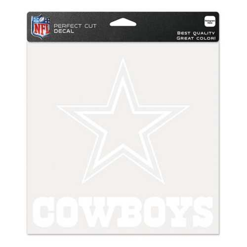 Wincraft Dallas Cowboys 8X8 Perfect Cut Decal
